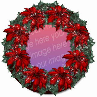 Christmas Tree Ornament Photo Cut Outs