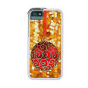 Christmas Tree Ornament Red Gold iPhone Case