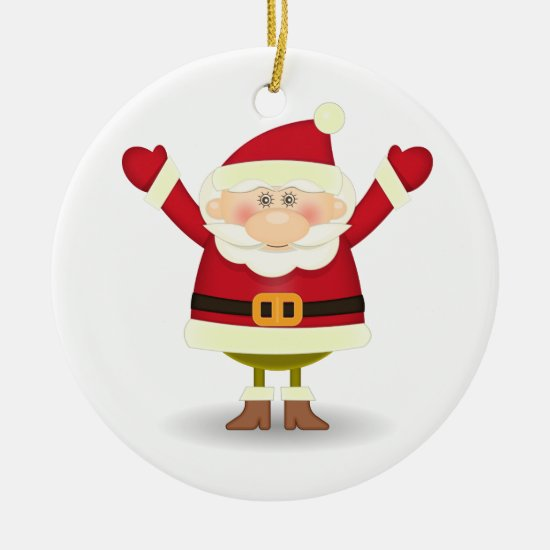 Christmas Tree Ornament - Santa