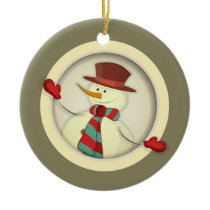 Christmas Tree Ornament - Snowman
