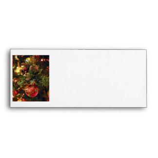 Christmas tree ornaments envelope