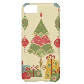 Christmas Tree Ornaments Gifts Presents Holiday iPhone 5C Case