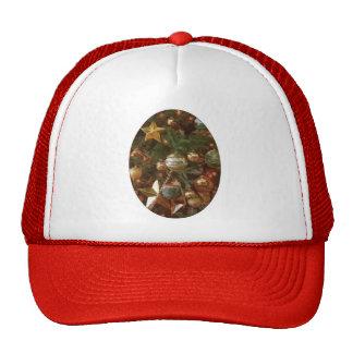 Christmas Tree Ornaments Trucker Hat