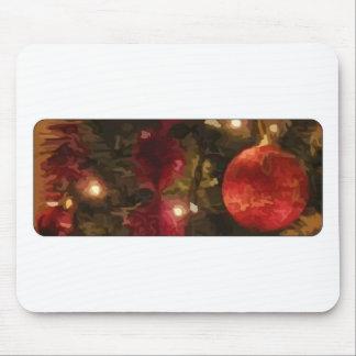 Christmas Tree Ornaments Mousepads