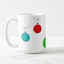 Christmas Tree Ornaments Mug