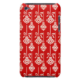 Christmas Tree Ornaments Pattern iPod Touch Case
