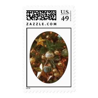 Christmas Tree Ornaments Postage Stamp