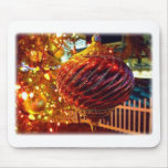 Christmas Tree Orniment Mouse Pad