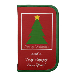 Christmas Tree Patch Folio Planners