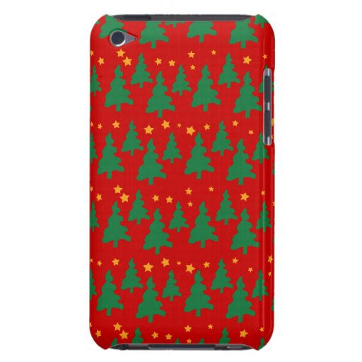 Christmas Tree Pattern iPod Case-Mate Cases