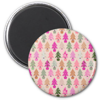 Christmas tree pattern magnet