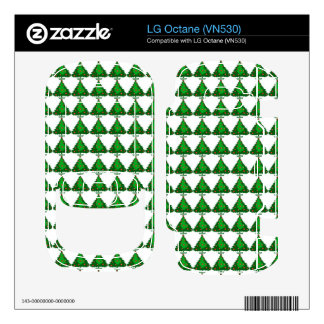 Christmas Tree Pattern LG Octane Decals