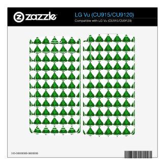 Christmas Tree Pattern Skin For LG Vu