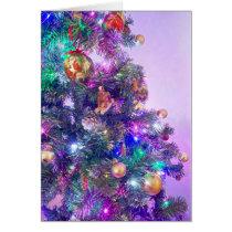 Christmas Tree Photo Christmas Card