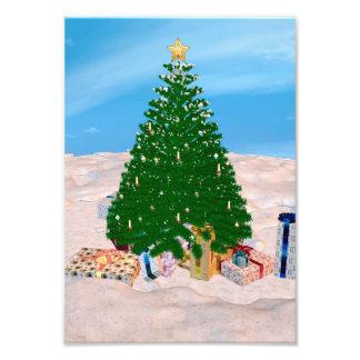 Christmas Tree Photo Print