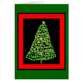 Christmas Tree Pic Card