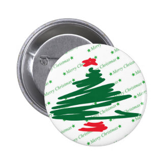 Christmas Tree Pinback Button