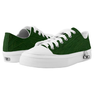 Christmas Tree Pine Needles Low Top Shoes Printed Shoes