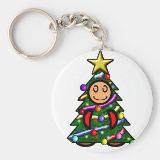 Christmas Tree (plain) Keychains