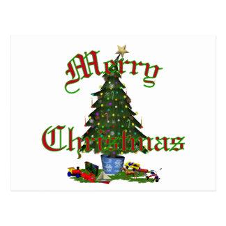 Christmas Tree  Post Card