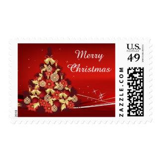 Christmas tree postage
