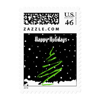 Christmas tree - Postage