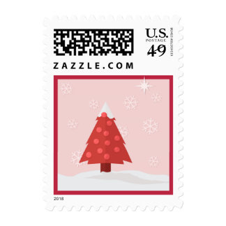 Christmas Tree Postage