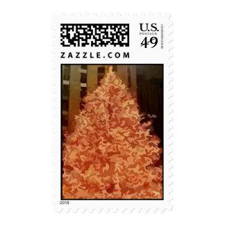 Christmas Tree Postage Stamp
