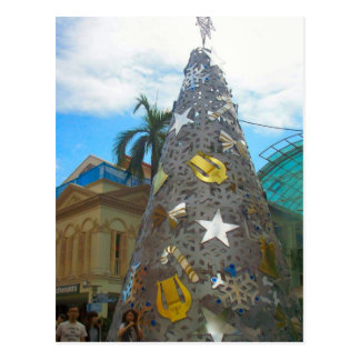 """""""Christmas tree"""" Postcard"""