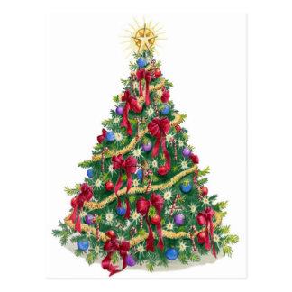Christmas Tree Postcards