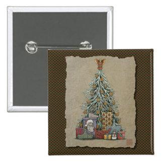 Christmas Tree & Presents Pin