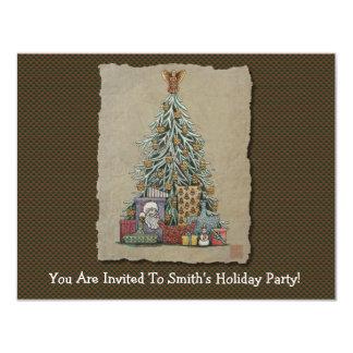 Christmas Tree & Presents Card