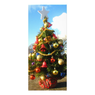 Christmas Tree Rack Card