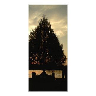 Christmas Tree Custom Rack Card