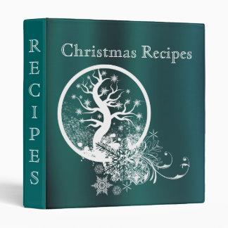 Christmas Tree Recipe Binder