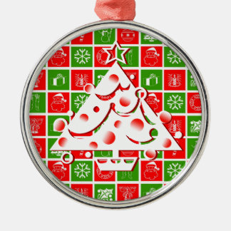 Christmas Tree Red Ornament