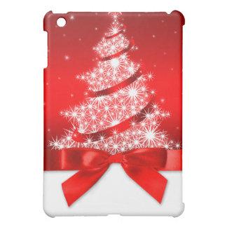 Christmas Tree Red Ribbon iPad Mini Case