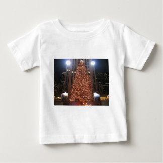 Christmas Tree Rockefeller Center Baby T-Shirt