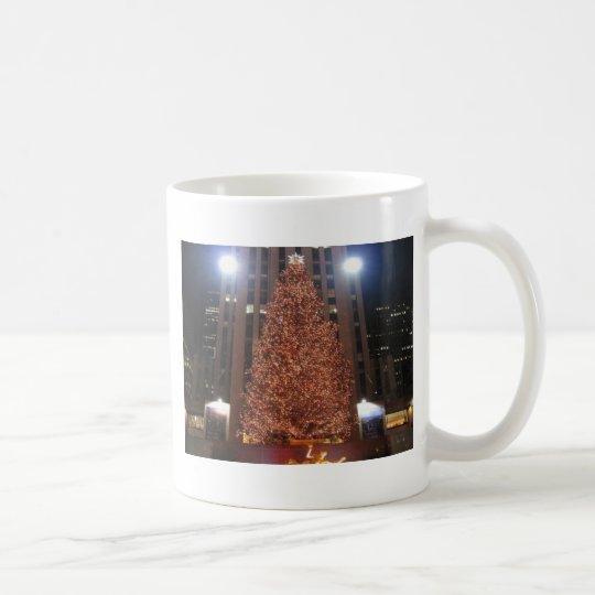 Christmas Tree Rockefeller Center Coffee Mug