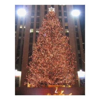 Christmas Tree Rockefeller Center Flyer