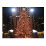 Christmas Tree Rockefeller Center Postcard