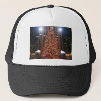 Christmas Tree Rockefeller Center Trucker Hat