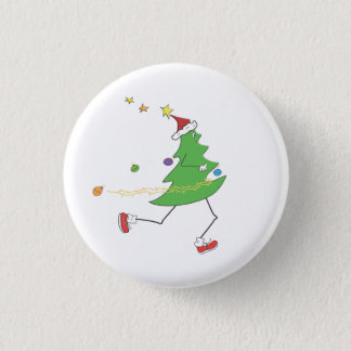Christmas Tree Runner Button