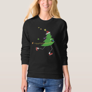 Christmas Tree Runner © Illustration Sweatshirt