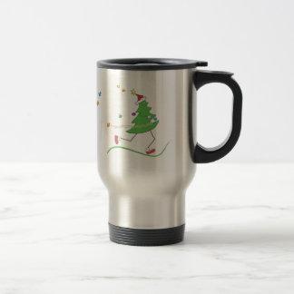 Christmas Tree Runner Coffee Mugs