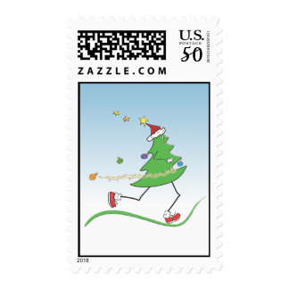 Christmas Tree Runner © Postage