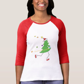 Christmas Tree Runner © T-Shirt