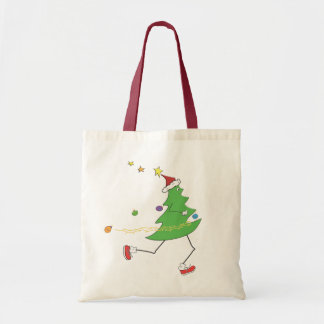 Christmas Tree Runner Tote Bag