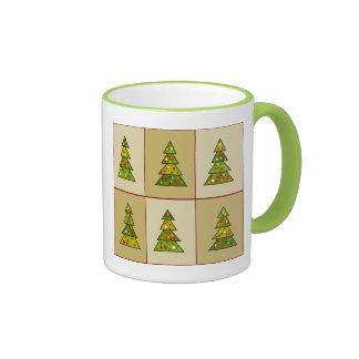 Christmas Tree Sampler Ringer Mug