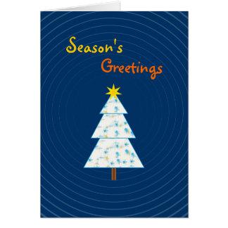 Christmas Tree -  Season's Greetings Card
